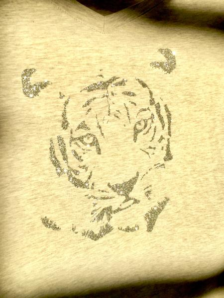 Plotterdatei Tiger
